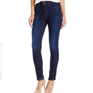 Levi's 512 High Rise Skinny Stretch Jeans